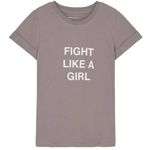 Bilde av Designer Remix Girls - G Stanley Fight Tee Taupe