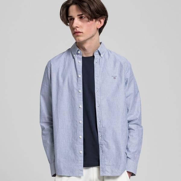 Bilde av GANT - Oxford Stripe Shirt Klassisk