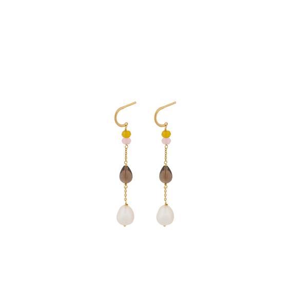 Bilde av Pernille Corydon - Lagoon Shade Earrings 56mm