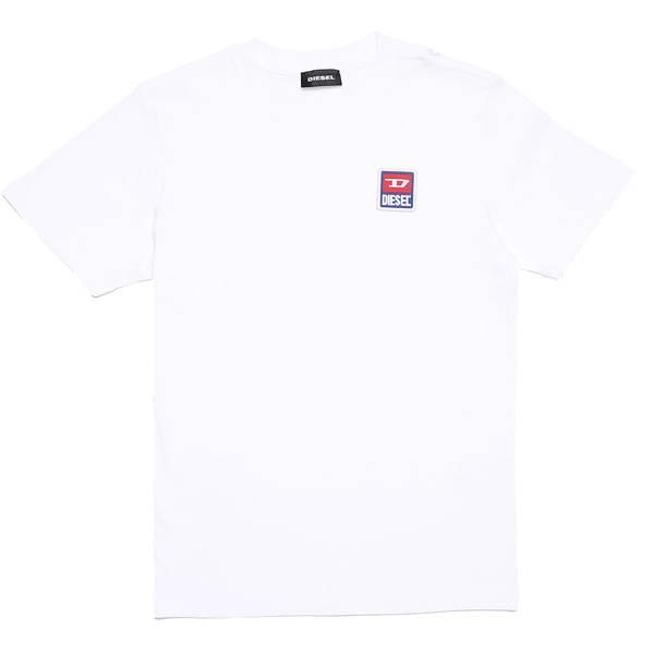 Bilde av Diesel - Tdiegodiv Maglietta T-skjorte hvit